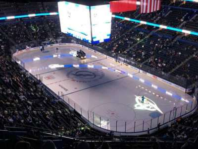 Amalie Arena, section: 326, row: S, seat: 24