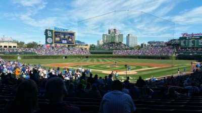Wrigley Field section 120