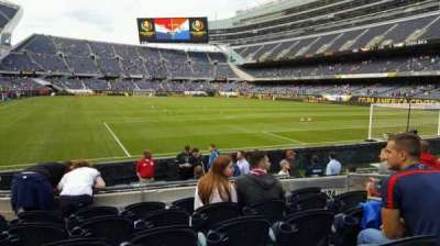 Soldier Field, section: 125, row: 6