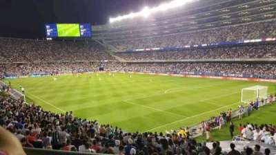 Soldier Field, section: 228, row: 1, seat: 4