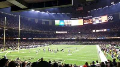 Mercedes-Benz Superdome section 154