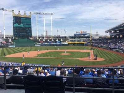 Kauffman Stadium, section: 224, row: AA, seat: 2