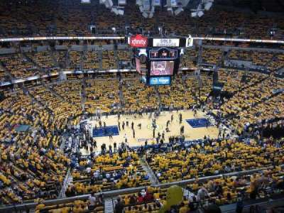 Bankers Life Fieldhouse section 209
