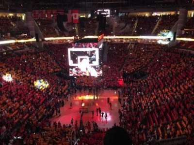 Toyota Center, section: 417, row: 14, seat: 12