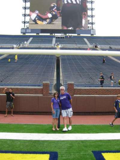Michigan Stadium section Field