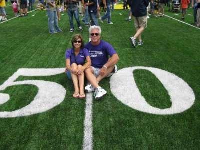 Michigan Stadium section 50 Yard Line