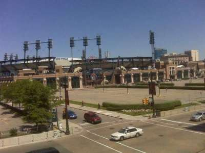 Comerica Park section From Hockey Town Roof
