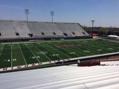 Huskie Stadium, section: F, row: 35, seat: 19