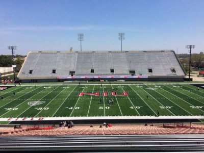 Huskie Stadium section D