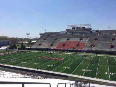 Huskie Stadium, section: J, row: 41, seat: 17