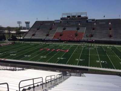 Huskie Stadium, section: K, row: 42, seat: 13