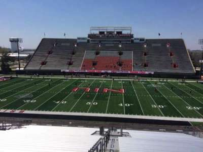 Huskie Stadium section L