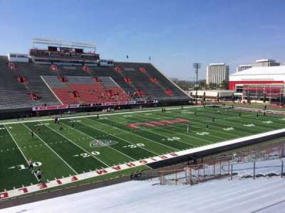 Huskie Stadium section P