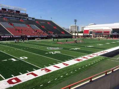 Huskie Stadium, section: Q, row: 3, seat: 5