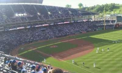 Kauffman Stadium, section: 437, row: L, seat: 8