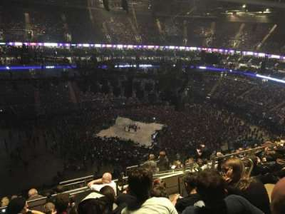 The O2 Arena, section: 402, row: M, seat: 477