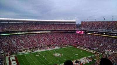 Bryant-Denny Stadium, section: U4-DD, row: 25, seat: 4
