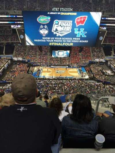 AT&T Stadium, section: 443, row: 16