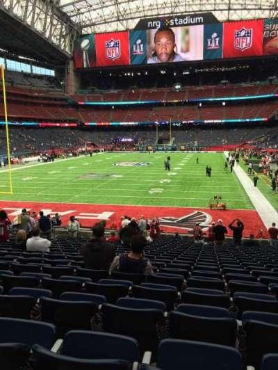 NRG Stadium section 135