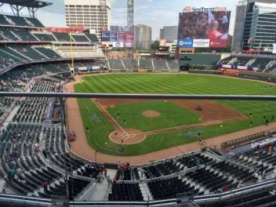 SunTrust Park, section: 324, row: 1, seat: 19