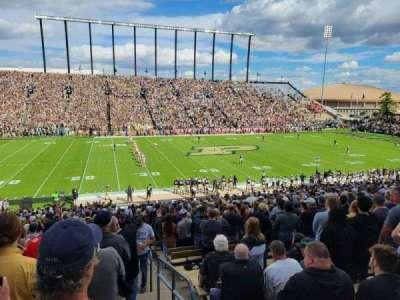Ross-Ade Stadium, section: 123, row: 43, seat: 1