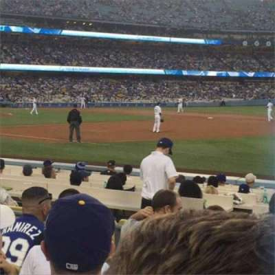 Dodger Stadium section 34FD