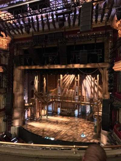 PrivateBank Theatre, section: Mezz R, row: D, seat: 2