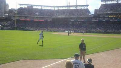 Comerica Park section 142