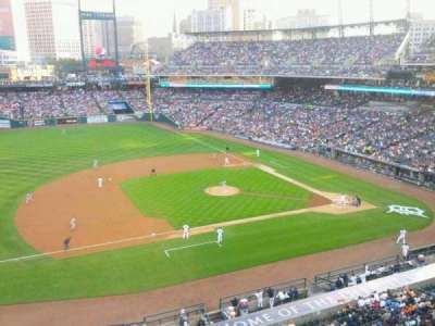 Comerica Park, section: 336, row: A, seat: 1