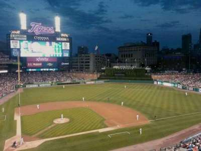 Comerica Park, section: 324, row: A, seat: 2