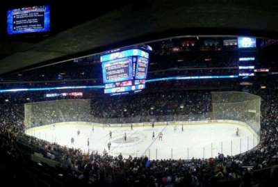 Nationwide Arena, section: C2, row: H, seat: 3