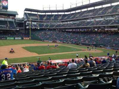 Globe Life Park in Arlington, section: 18, row: 29, seat: 1