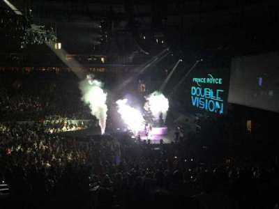 Wells Fargo Center, section: Club Box 14, row: 4, seat: 1