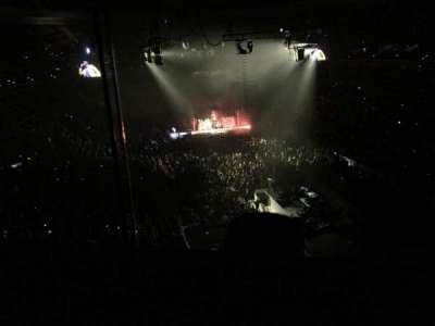 Wells Fargo Center, section: 206, row: 1, seat: 1