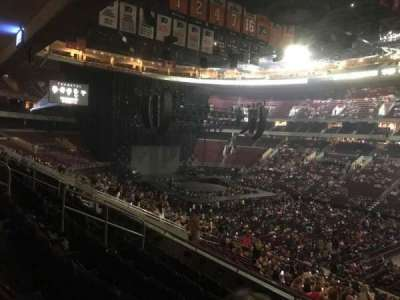 Wells Fargo Center, section: CB3, row: 6, seat: 22