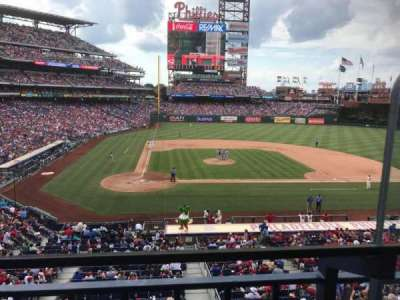 Citizens Bank Park, section: Suite 43, row: 1, seat: 2