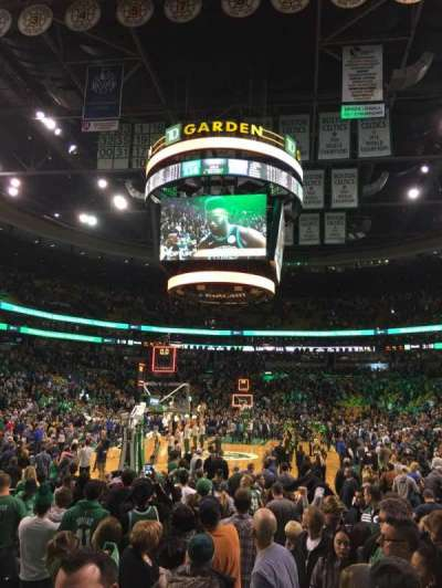 TD Garden, section: Loge 17, row: 3, seat: 3 and 4