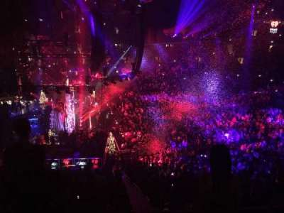 Madison Square Garden, section: 222, row: 4, seat: 13