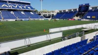 Navy-Marine Corps Memorial Stadium, section: 4, row: E, seat: 1