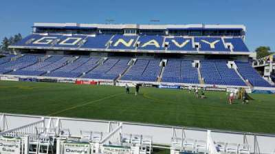 Navy-Marine Corps Memorial Stadium, section: 2, row: E, seat: 1