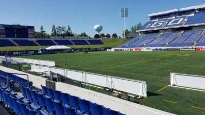 Navy-Marine Corps Memorial Stadium, section: 3, row: E, seat: 1