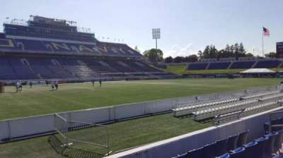 Navy-Marine Corps Memorial Stadium, section: 30, row: E, seat: 1