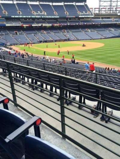 Turner Field, section: 225, row: 2, seat: 105