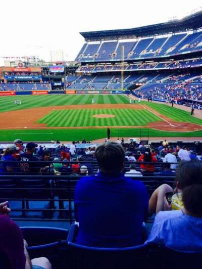 Turner Field, section: 212, row: 4, seat: 4