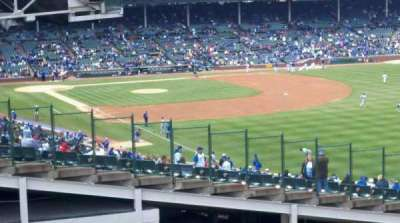 Wrigley Field section rooftops