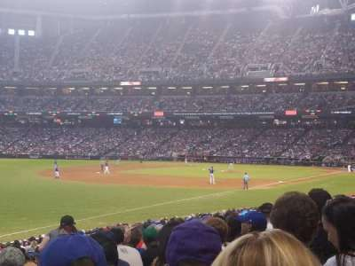 Chase Field, section: 134, row: 26, seat: 15