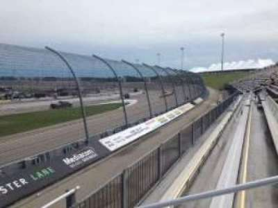 Iowa Speedway, section: 108, row: 3, seat: 4