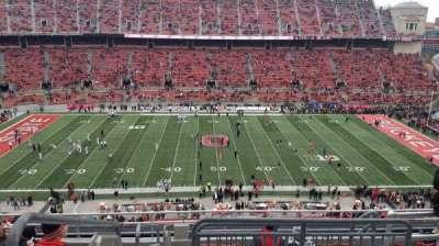 Ohio Stadium, section: 21C, row: 10, seat: 1
