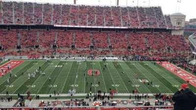 Ohio Stadium, section: 21C, row: 11, seat: 1