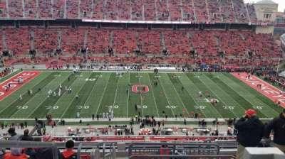 Ohio Stadium, section: 21C, row: 12, seat: 1